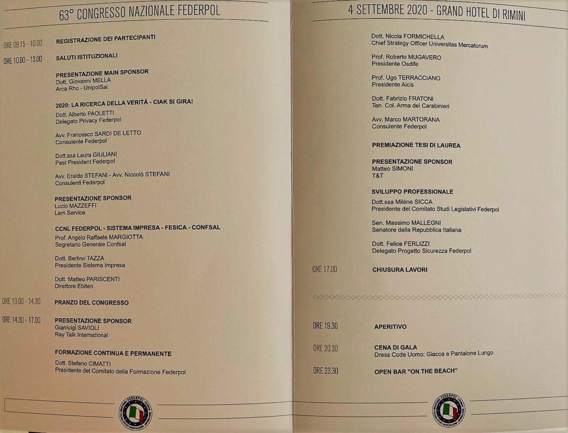 La Dott.ssa Milène Sicca al 63° Congresso Federpol