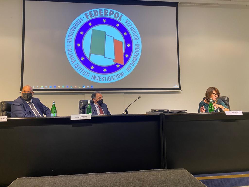 L'intervento della Dott.ssa Milène Sicca al 63° Congresso Federpol